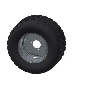 Wheel/Tyre - Multi 4000 16.00x22.5 6x205